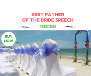 Best Father of the Bride Speech